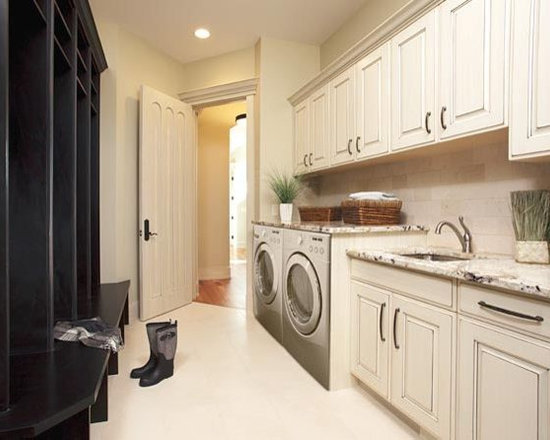 Mud Room Laundry Storage
